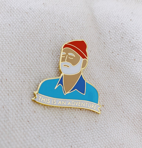 The Life Aquatic Enamel Pin - Only 90's Kids Know