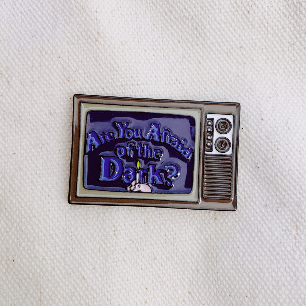 Are You Afraid Of The Dark? Enamel Pin - Only 90's Kids Know