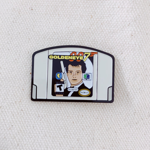Goldeneye For N64 Enamel Pin - Only 90's Kids Know