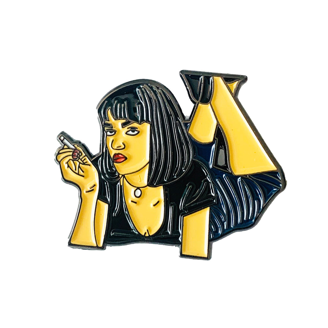 Mia Wallace Laying Down - Only 90's Kids Know