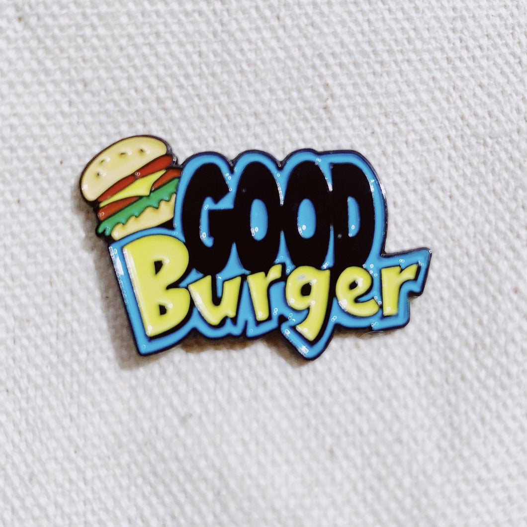 Good Burger Enamel Pin - Only 90's Kids Know