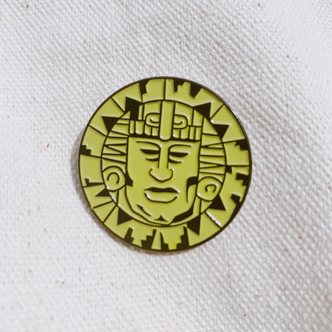 Legends Of The Hidden Temple Enamel Pin - Only 90's Kids Know