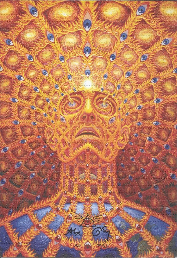 "Enter To Win A FREE Alex Grey Signed ""Oversoul"" Artist Proof"