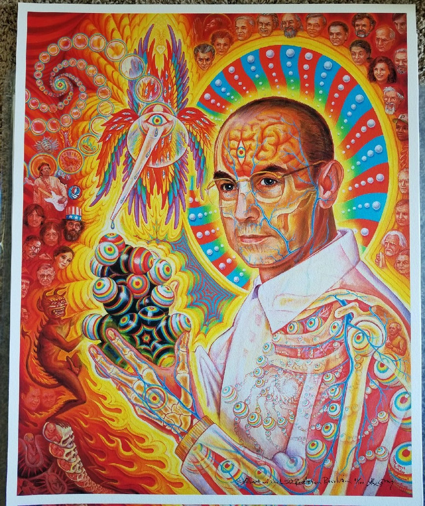 "Last Few Alex Grey ""St Albert"" Giclée Prints Remaining"