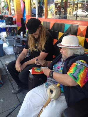 Wavy Gravy Signs Hog Farm and Friends Book