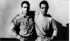 Neal Cassady (left) and Jack Kerouac (right)