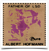 Albert Hofmann Pure Blotter Art Sticker