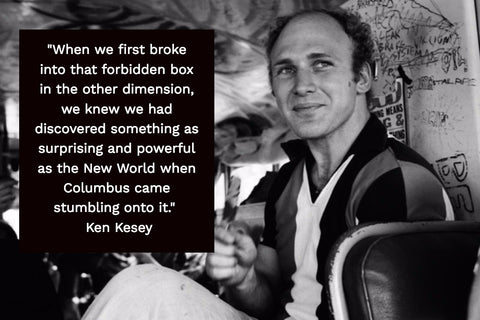 Ken Kesey On The Furthur Bus