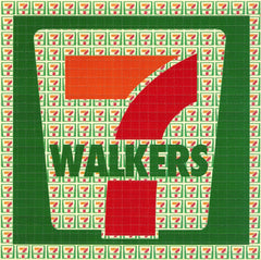7 Walkers Blotter Art