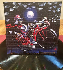 "Richard Biffle ""Bicycle Daze"" Signed, Numbered Blotter Art"