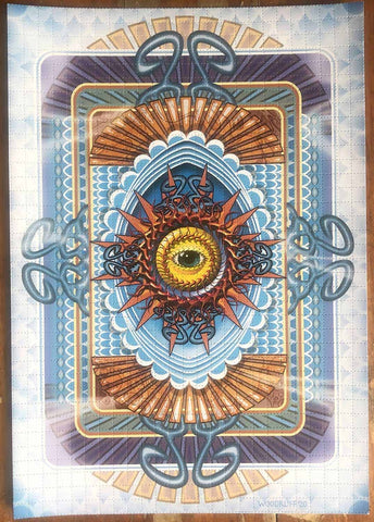 Eye of the Universe Blotter Art