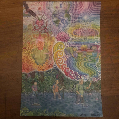 Divine Moments of Trump Blotter Art - Signed, Numbered Edition