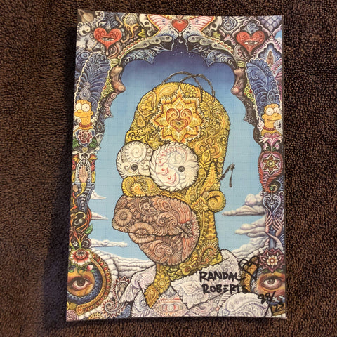"""Psychedelic Homer"" Randal Roberts Signed, Numbered Edition - Shakedown Gallery"