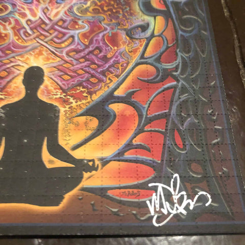 Mike DuBois Signed, Artist Edition Mind Matrix Blotter Art