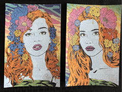 "Chuck Sperry ""Seer"" and ""Oracle"" Blotter Art Set"