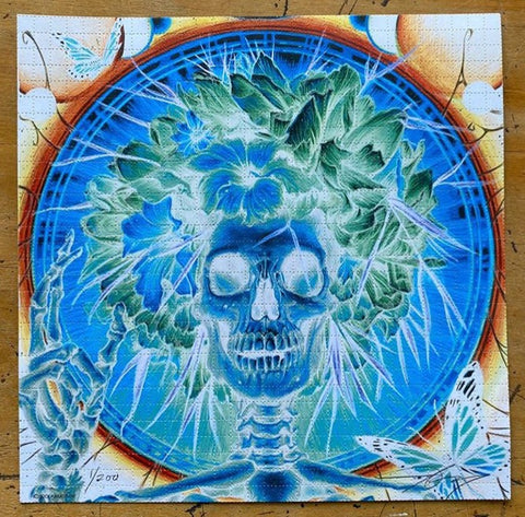 """Peaking"" Blotter Art by A.J. Masthay"