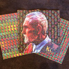 Timothy Leary Set of Three Mark McCloud Vintage Blotter Art Prints - Shakedown Gallery