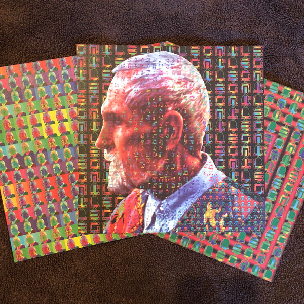 Timothy Leary Set of Three Mark McCloud Vintage Blotter Art Prints