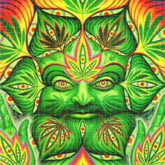 Alex Grey Cannabacchus Blotter Art - Shakedown Gallery