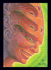 "Alex Grey ""Shpongled"" Blotter Art - Signed and Numbered - Shakedown Gallery"