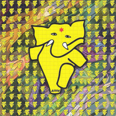 Appa The Dancing Elephant Blotter - Psychedelic - Shakedown Gallery