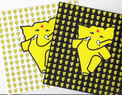 Appa The Dancing Elephant Blotter - Set of Two - Shakedown Gallery