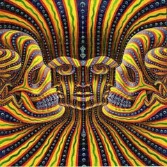 "Alex Grey ""Bardo Being"" Blotter Art - Shakedown Gallery"