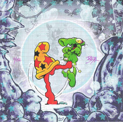Cheech Wizard Blotter Art Signed by Mark Bode - Shakedown Gallery