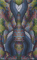 "David Cooley ""Cavernous"" Blotter Art - Shakedown Gallery"