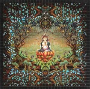 Enlightenment Blotter Art - Shakedown Gallery