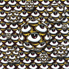 Flying Eyeball Blotter Art - Shakedown Gallery