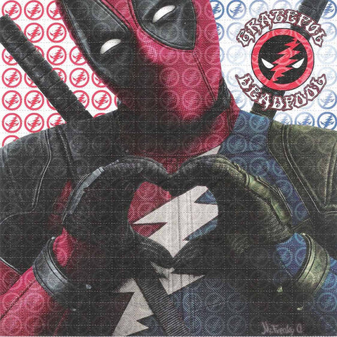 Grateful Deadpool Blotter Art