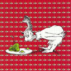 Green Eggs and Ham Blotter Art - Shakedown Gallery