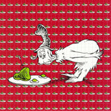 Green Eggs and Ham Blotter Art