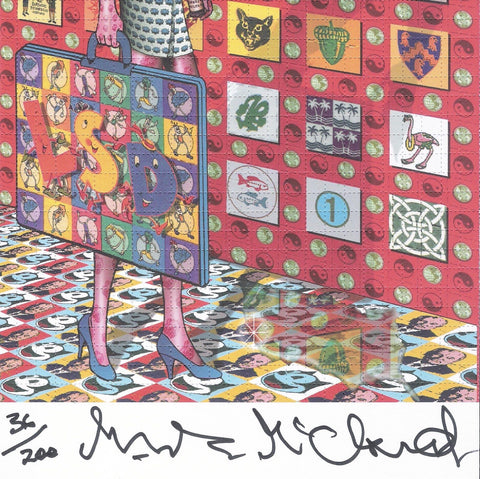 """Blotter Barbie"" - Mark McCloud Signed, Limited Edition - Shakedown Gallery"
