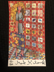 """Blotter Barbie"" - Mark McCloud LE - Shakedown Gallery"