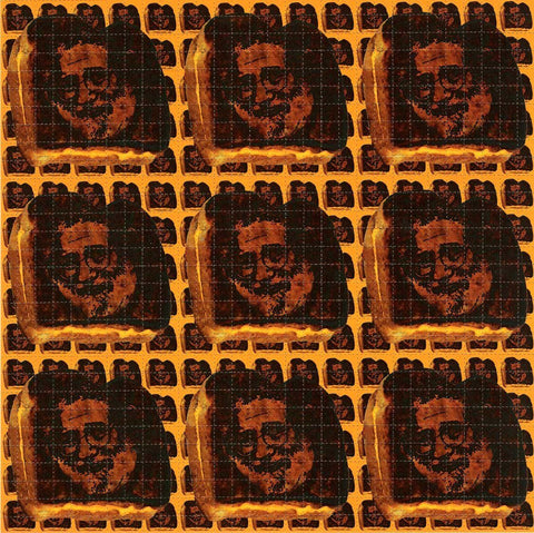 Jerry Grilled Cheese Blotter Art - Shakedown Gallery