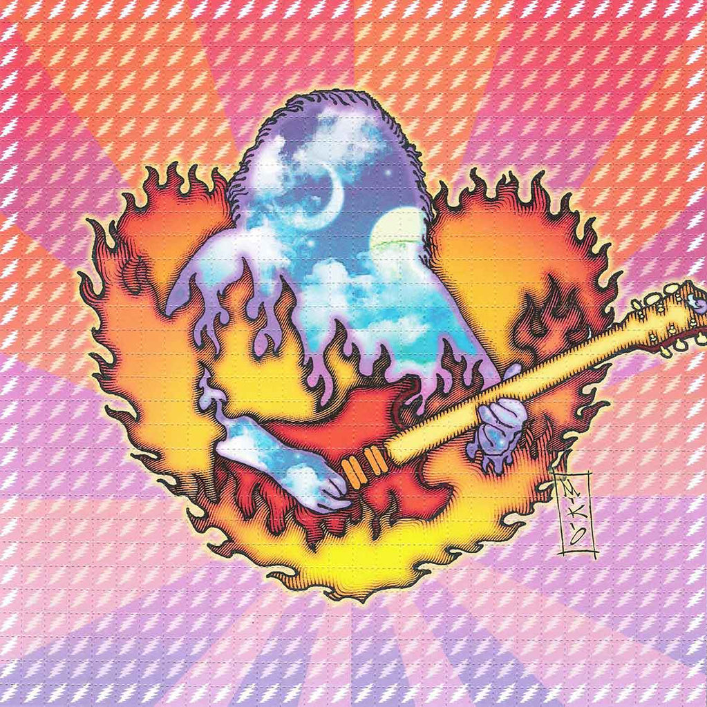 Jerry Heart Blotter Art