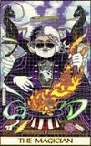 Jerry Magician Blotter Art - Tarot Image by Mikio