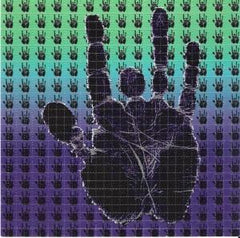 Jerry Hand Blotter Art
