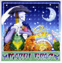Grateful Dead Themed Mardi Gras Blotter Art - Shakedown Gallery