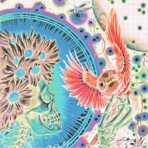 """Surrender"" Blotter Art by A.J. Masthay"
