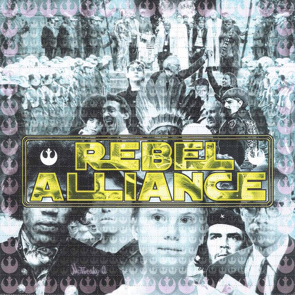 Rebel Alliance Blotter Art