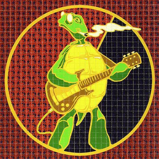 Richard Biffle Grateful Dead Terrapin Blotter Art - Shakedown Gallery