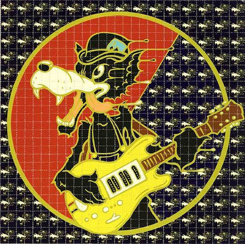 "Richard Biffle ""Wolf"" Blotter Art"