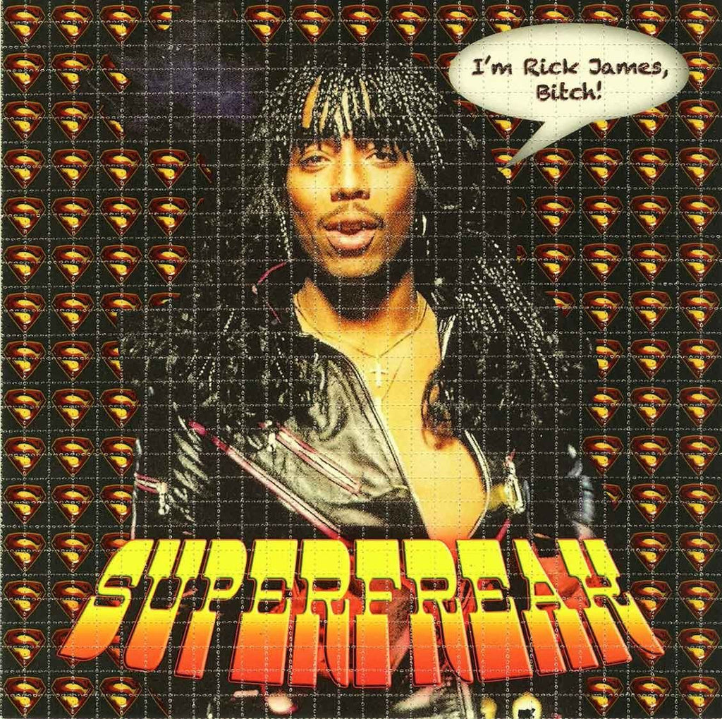 Rick James Superfreak Blotter Art - Shakedown Gallery