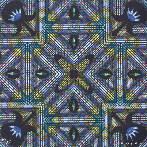 "David Cooley ""Soliloquy"" Blotter Art - Shakedown Gallery"