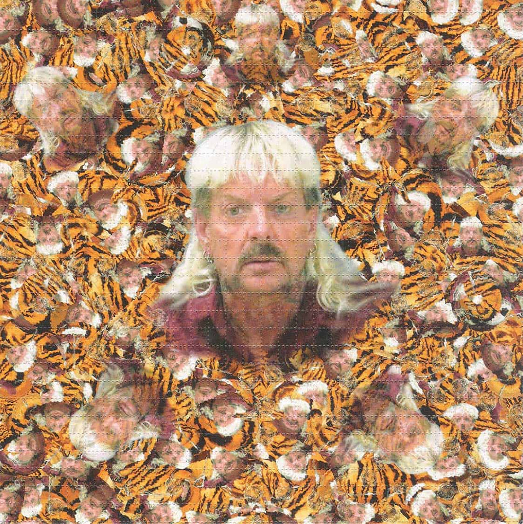 Joe Exotic Tiger King Blotter Art