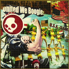 United We Boogie Blotter Art