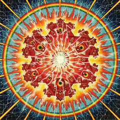 "Alex Grey ""Vision Crystal"" Blotter Art - Shakedown Gallery"